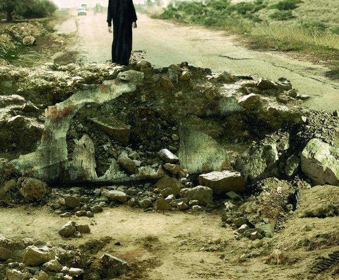 sophie ristelhueber eleven blowups 2006
