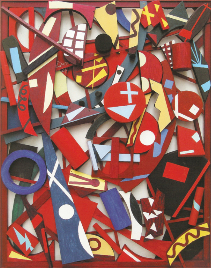 jan voss relief rouge 2008 bois